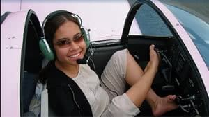 Jessica Cox overcame being born with no arms to become a pilot.