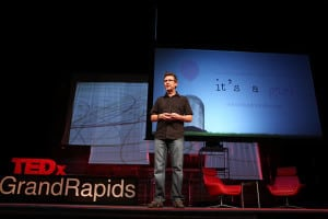 Speaking at TEDxGrandRapids